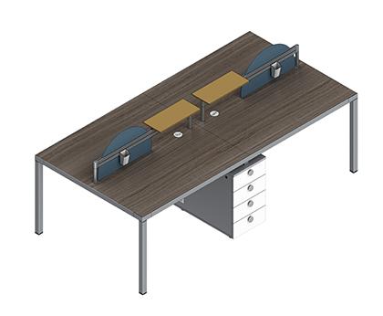 卡诺B款行政桌CNO-DEB-1816B