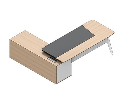 卡诺A款行政桌CNO-DEA-2219A