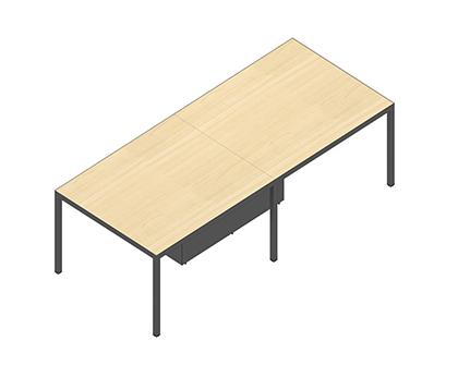 斯莫尔会议桌SML-MTB-2410